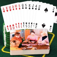Bridge Style Personalized Playing Cards