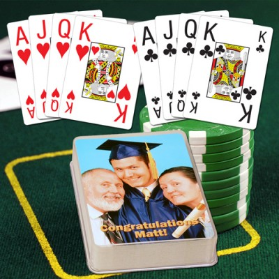 JUMBO Index Personalized Playing Cards