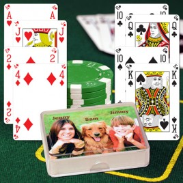 Look SEE Personalized Playing Cards