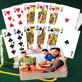 Pinochle Personalized Playing Cards