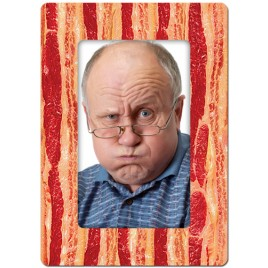 Bacon Theme Personalized Playing Cards