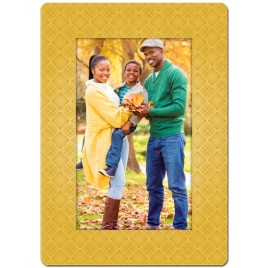 Gold Diamonds Theme Personalized Playing Cards