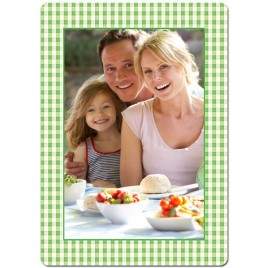 Green Picnic Theme Personalized Playing Cards