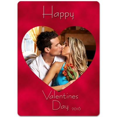 Valentine's Day Theme Personalized Playing Cards