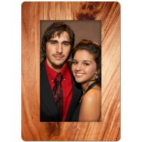 Wood Theme Personalized Playing Cards